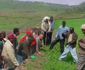 Land management course by Mekelle University, Ethiopia