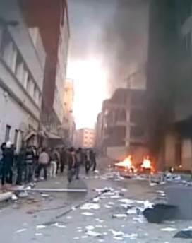 Las protestas en Alhucemas, en el norte de Marruecos, se hicieron violentas