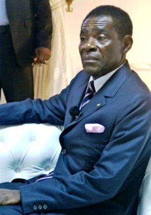 President Teodoro Obiang Nguema of Equatorial Guinea