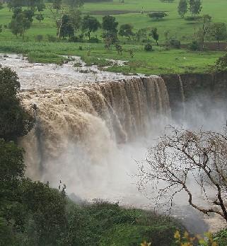 Las majestuosas Cataratas del Nilo Azul en Etiopía