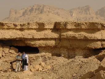 Cuevas cercanas a El Minya, Egypt