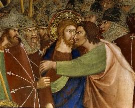 Beso de Judás a Jesús