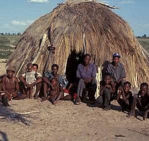 San people of botswana